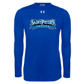 Under Armour Royal Long Sleeve Tech Tee-Soccer