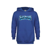 Youth Royal Fleece Hoodie-Swimming & Diving