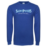 Royal Long Sleeve T Shirt-Saint Peters University