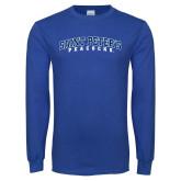 Royal Long Sleeve T Shirt-Arched Saint Peters University