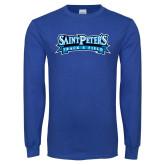Royal Long Sleeve T Shirt-Track & Field