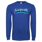 Royal Long Sleeve T Shirt-Softball