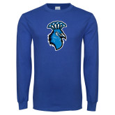 Royal Long Sleeve T Shirt-Peacock