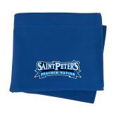 Royal Sweatshirt Blanket-Saint Peters Peacock Nation Banner