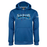 Under Armour Royal Performance Sweats Team Hoodie-Tennis