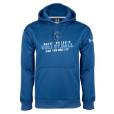 Under Armour Royal Performance Sweats Team Hoodie-Volleyball Can You Dig It