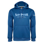 Under Armour Royal Performance Sweats Team Hoodie-Saint Peters University