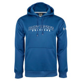 Under Armour Royal Performance Sweats Team Hoodie-Arched Saint Peters University