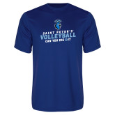 Performance Royal Tee-Volleyball Can You Dig It