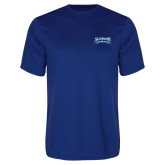 Performance Royal Tee-Saint Peters Peacock Nation Banner