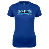 Ladies Syntrel Performance Royal Tee-Tennis