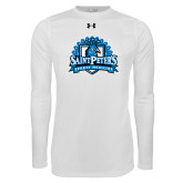 Under Armour White Long Sleeve Tech Tee-Sports Medicine