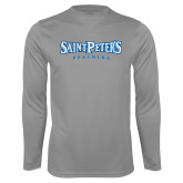 Syntrel Performance Steel Longsleeve Shirt-Saint Peters University
