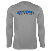 Performance Steel Longsleeve Shirt-Arched Saint Peters University