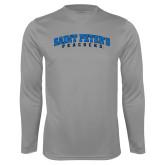 Syntrel Performance Steel Longsleeve Shirt-Arched Saint Peters University