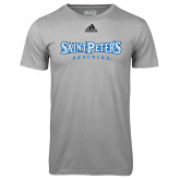 Adidas Climalite Sport Grey Ultimate Performance Tee-Saint Peters University