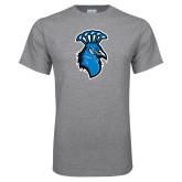 Grey T Shirt-Peacock