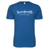 Next Level SoftStyle Royal T Shirt-Saint Peters University