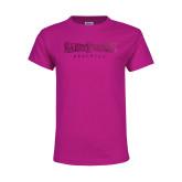 Youth Fuchsia T Shirt-Saint Peters University Foil