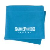 Light Blue Sweatshirt Blanket-Saint Peters University
