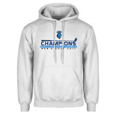 White Fleece Hoodie-MAC Mens Golf Champions 2017