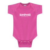 Fuchsia Infant Onesie-Saint Peters University