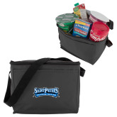 Six Pack Grey Cooler-Saint Peters Peacock Nation Banner