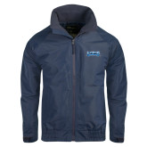 Navy Charger Jacket-Saint Peters Peacock Nation Banner
