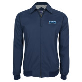 Navy Players Jacket-Saint Peters Peacock Nation Banner