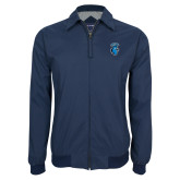 Navy Players Jacket-Peacock
