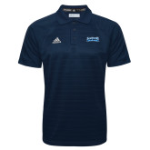Adidas Climalite Navy Jaquard Select Polo-Saint Peters Peacock Nation Banner