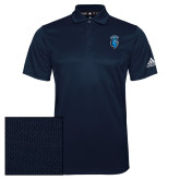 Adidas Climalite Navy Grind Polo-Peacock