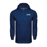 Under Armour Navy Performance Sweats Team Hoodie-Saint Peters Peacock Nation Banner