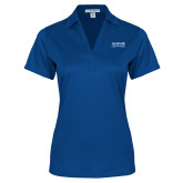 Ladies Royal Performance Fine Jacquard Polo-Saint Peters Peacock Nation Banner