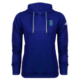 Adidas Climawarm Royal Team Issue Hoodie-Peacock