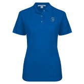 Ladies Easycare Royal Pique Polo-Peacock