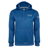 Under Armour Royal Performance Sweats Team Hoodie-Saint Peters Peacock Nation Banner
