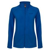 Ladies Fleece Full Zip Royal Jacket-Saint Peters University
