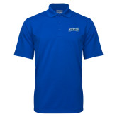 Royal Mini Stripe Polo-Saint Peters Peacock Nation Banner