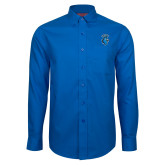 Red House French Blue Long Sleeve Shirt-Peacock