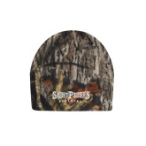 Mossy Oak Camo Fleece Beanie-Saint Peters University