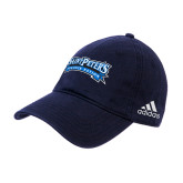 Adidas Navy Slouch Unstructured Low Profile Hat-Saint Peters Peacock Nation Banner