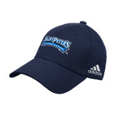 Adidas Navy Structured Adjustable Hat-Saint Peters Peacock Nation Banner