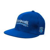 Royal OttoFlex Flat Bill Pro Style Hat-Saint Peters Peacock Nation Banner