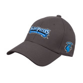 Charcoal Heavyweight Twill Pro Style Hat-Saint Peters Peacock Nation Banner