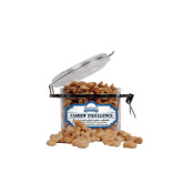 Cashew Indulgence Small Round Canister-Saint Peters Peacock Nation Banner