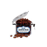 Almond Bliss Small Round Canister-Saint Peters Peacock Nation Banner