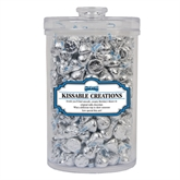 Kissable Creations Large Round Canister-Saint Peters Peacock Nation Banner