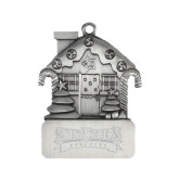 Pewter House Ornament-Saint Peters Peacocks Engraved