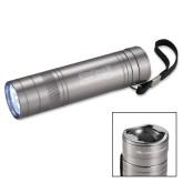 High Sierra Bottle Opener Silver Flashlight-Saint Peters Peacocks Engraved